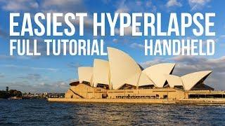 Beginner hyperlapse tutorial - The EASY way