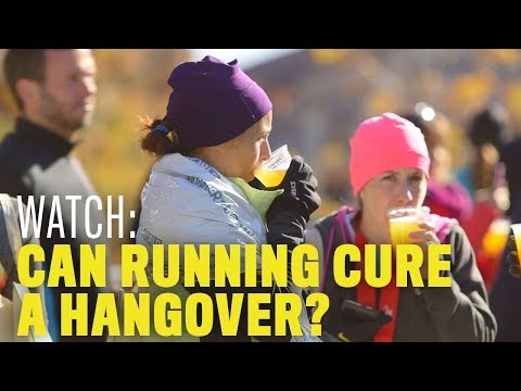 Can Running Cure a Hangover?