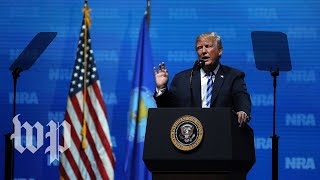 Download Video Trump's speech to the NRA, in 3 minutes MP3 3GP MP4