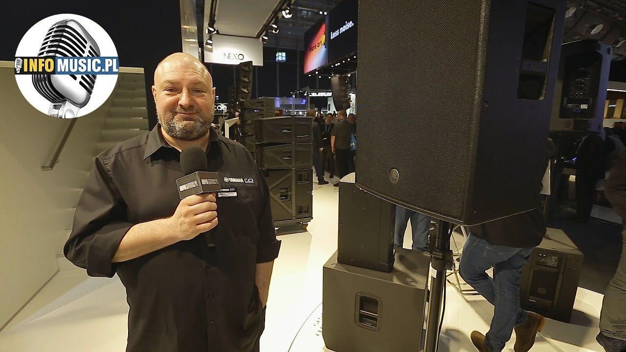 Yamaha DZR - Co nowego z nagłośnienia u Yamahy?   PLS'18 - Polska relacja