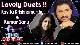 Lovely Duets !! - Kavita Krishnamurthy & Kumar Sanu : Superhit Hindi Songs || Video Jukebox