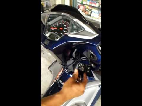 Honda airblade 2016 lắp khoá iky new tích hợp sử dụng chung với remote trên xe
