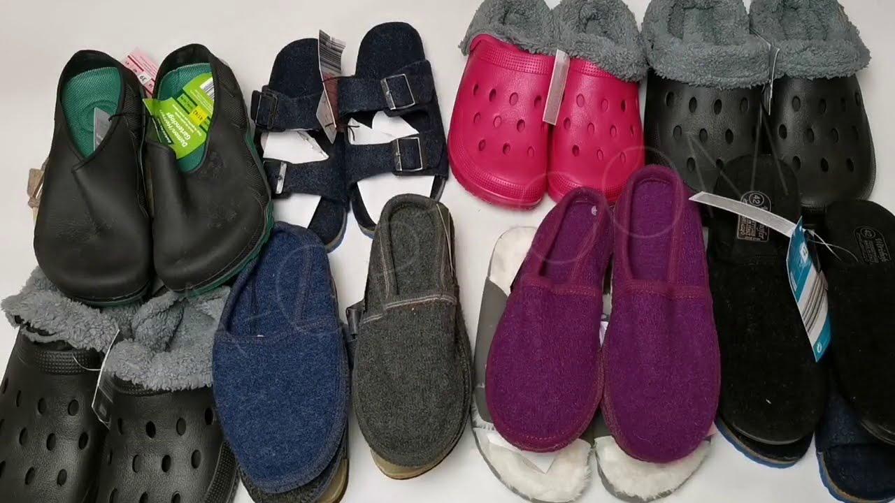 thumbnail video Взуття оптом Crane, Blue Motion, Terranova, Fiore 23 кг * 9,9 €/кг лот #1474