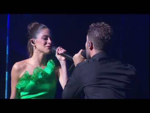 Tini Stoessel & David Bisbal - Todo Es Posible (HD Live En El Teatro Real)