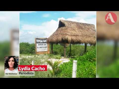 Red de Borge devora terrenos en Puerto Morelos