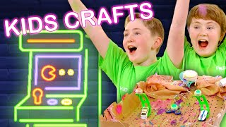 Make an Arcade Game | KIDS CRAFTS | Universal Kids