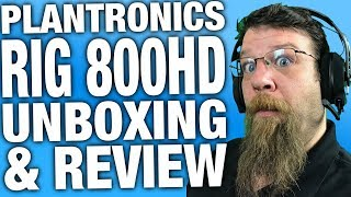 Plantronics RIG 800 HD Wireless Gaming Headset Unboxing and Review - #Sponsored