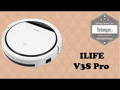 ilife-v3s-pro---robot-vacuum-cleaner-[unboxing]