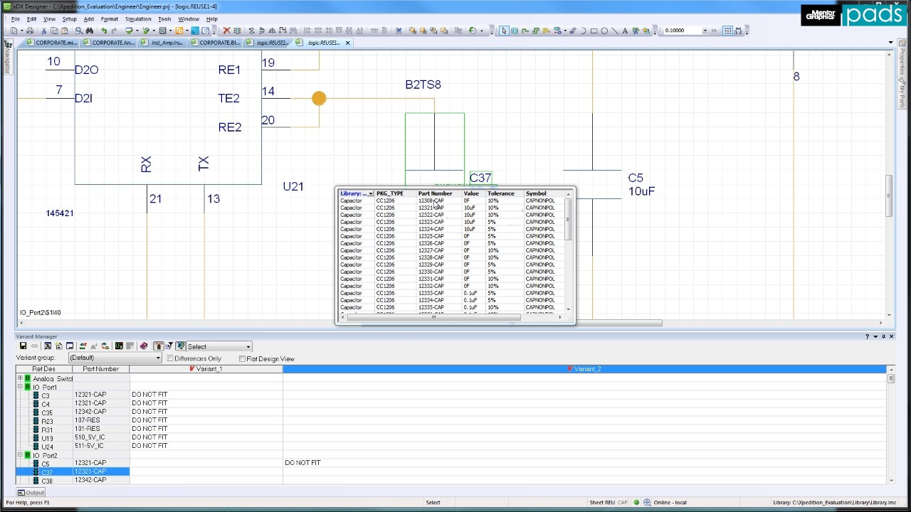 Schematic Variant Definition and Management - YouTube
