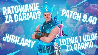Rescuing for free? Patch 9.40, hang-glider and picas! -Fortnite RŚ NEWS!