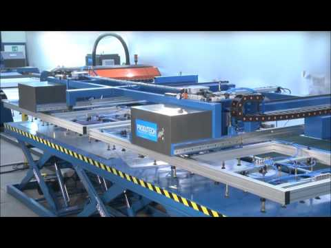 Produtech Laser Sorting and Stacking