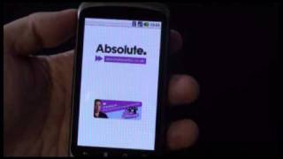 Updated Absolute Radio iAmp on the Google Nexus One