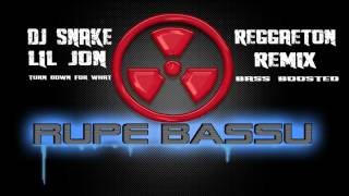 Download lagu Dj Snake & Lil Jon - Turn down for what REGGAETON REMIX