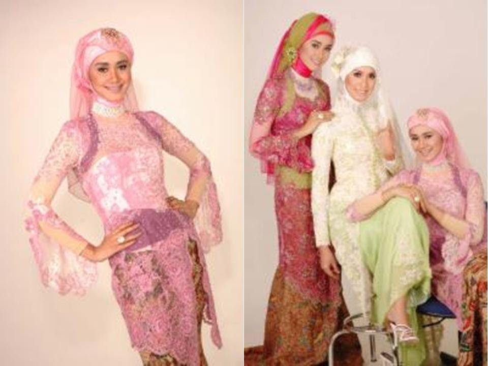 Model Kebaya Muslim Modern - YouTube