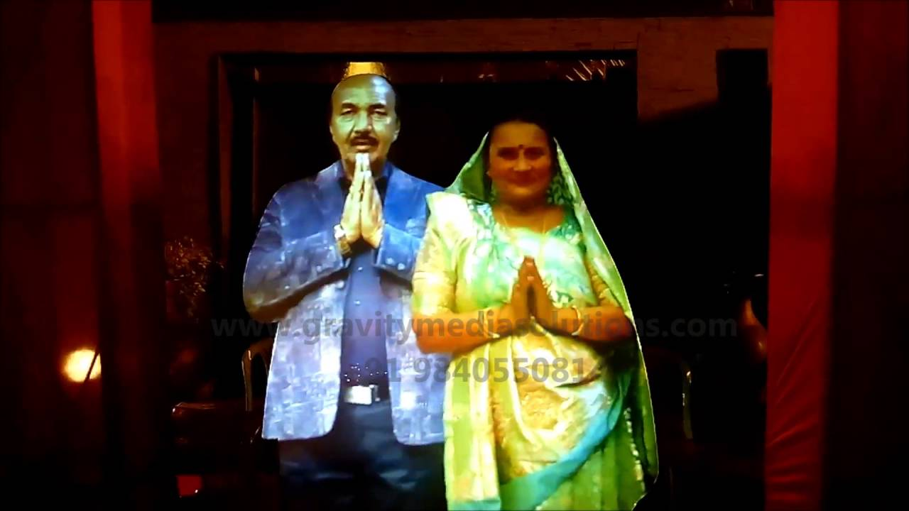 A HOLOGRAPHIC PROJECTION-VIRTUAL HOLOGRAM DISPLAY FOR WEDDING NEW CONCEPT  INDIA CHENNAI RENTAL 69aca968d6a