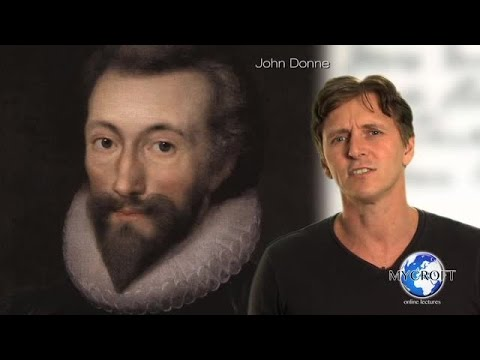 John Donne - The Good-Morrow - Poetry Lecture and Analysis by Dr. Andrew Barker