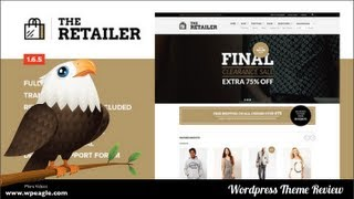 The Retailer Wordpress Woocommerce Theme Review