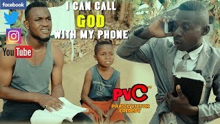 i can call god with my phone praize victor comedy
