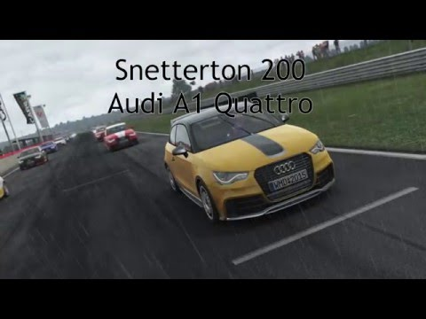 Project CARS. Audi A1 @ Snetterton 200. Multiplayer