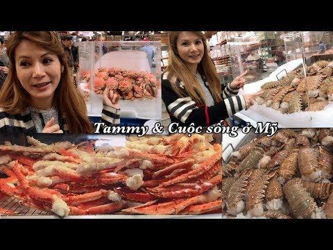 Đi Chợ Costco ăn Thức ăn Miễn Phí - Cuộc Sống ở Mỹ - Siêu Thị Mỹ Costco
