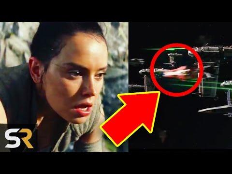 8 Hidden Easter Eggs & SECRETS In Star Wars 8 The Last Jedi