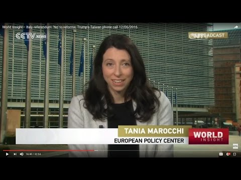 PRESS: CCTV China, Italy referendum: No to reform