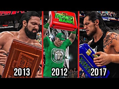 Thumbnail: All WWE Money In The Bank Cash Ins That Failed in WWE History! ( WWE2K15/WWE2K17 )