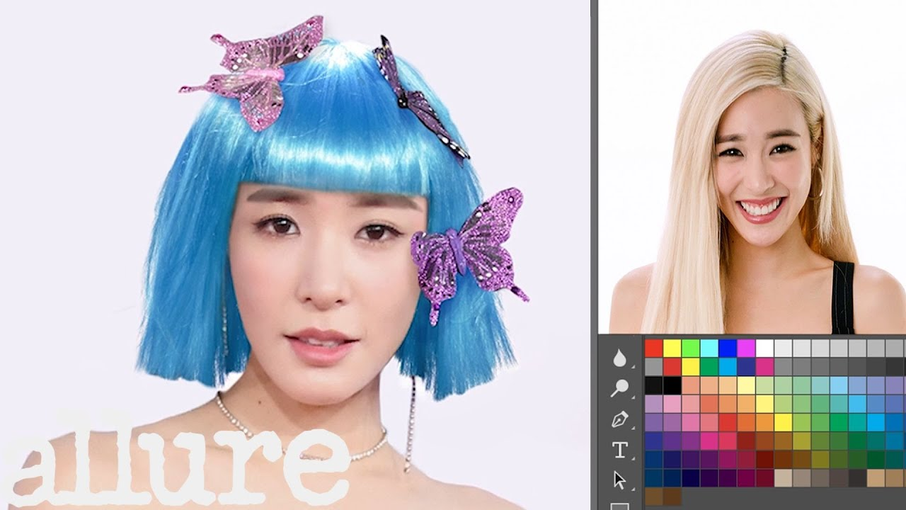 Tiffany Young Photoshops Herself Into 7 Different Looks | Allure