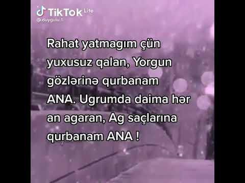 ANAYA AİD STATUS #Allah ANALARI QORUSUN#