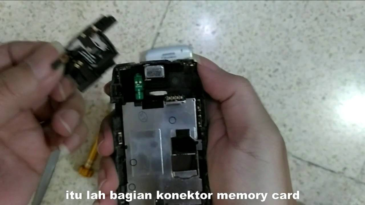 Cara Ganti Konektor Handsfree Cara Ganti Konektor Memory Bb Youtube