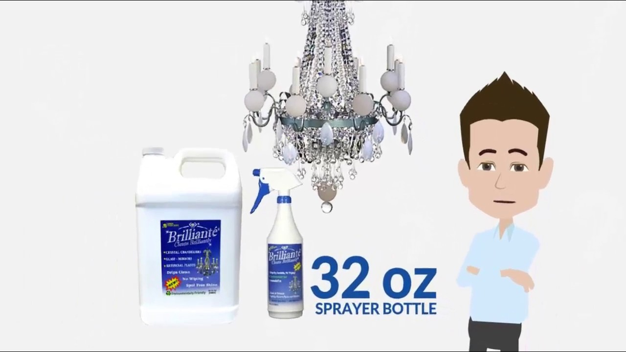 How to clean crystal chandelier with brilliante crystal cleaner how to clean crystal chandelier with brilliante crystal cleaner arubaitofo Gallery