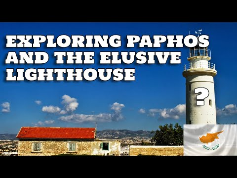 Cyprus travel vlog part 1: Exploring Paphos & the elusive lighthouse