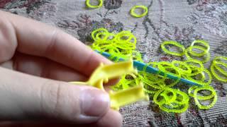 Обзор резинок для плетения браслетов . Видеоурок 2