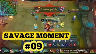 Baixar BEST SAVAGE MOMENT MOBILE LEGENDS #09