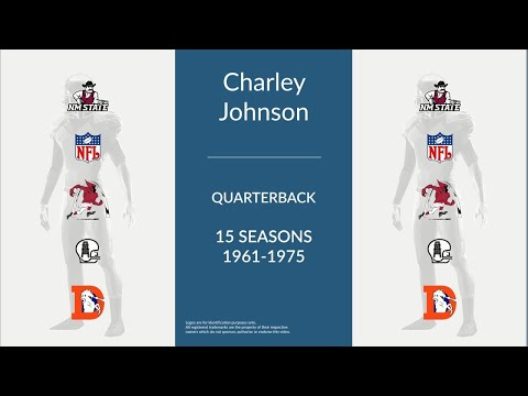 Charley Johnson: Football Quarterback