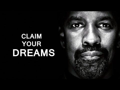 EPIC Motivational Speech by Denzel Washington - Claim Your Dream!!