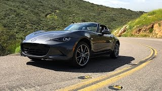 2017 Mazda MX-5 RF FIRST DRIVE REVIEW - As good as the ragtop ND Miata MX5? (2 of 3)