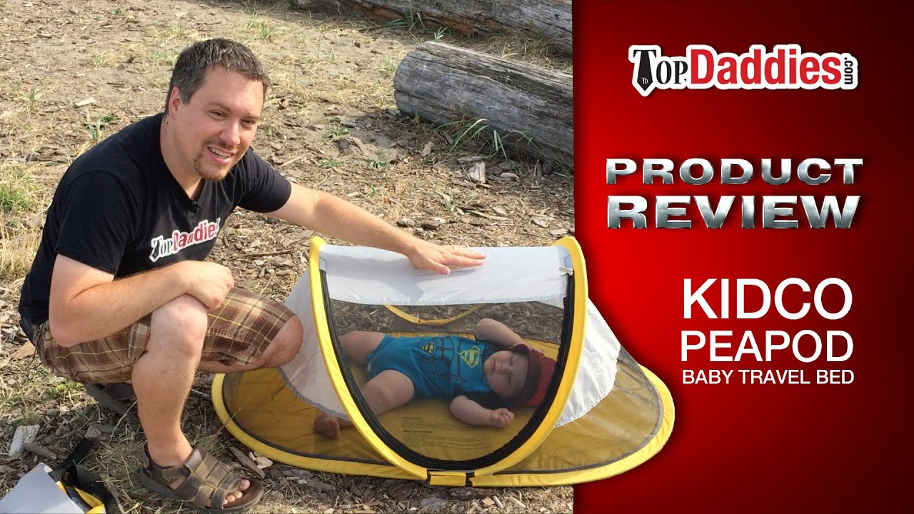 sc 1 st  YouTube & KidCo PeaPod Baby Travel Bed Review - YouTube