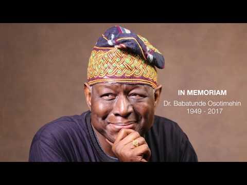 In Memoriam: Dr. Babatunde Osotimehin 1949 - 2017