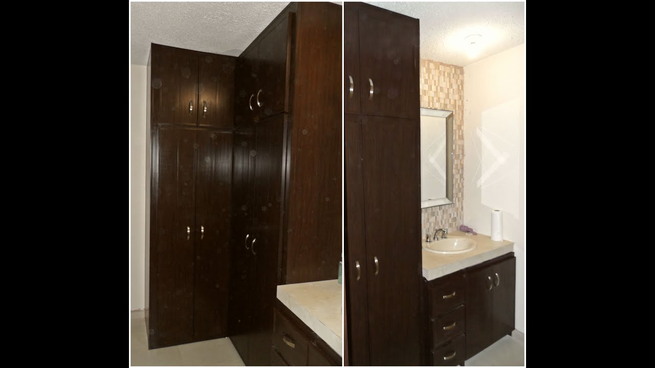 closet vestidor de pvc con mueble de ba o youtube