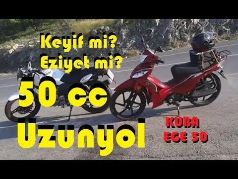 50 cc Uzunyol#5 - Kuba EGE 50 - Lastik Patladi - Kahramankazan