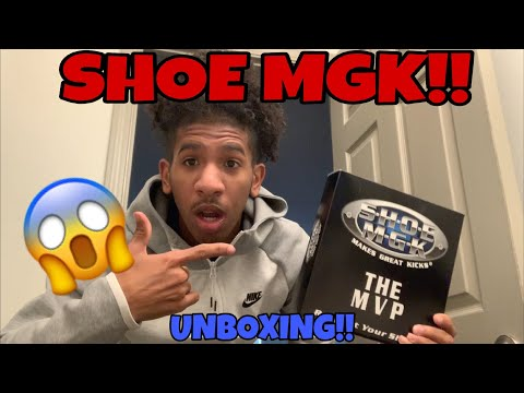 SHOE MGK THE MVP UNBOXING!!!