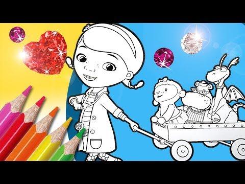 Doc McStuffins Coloring Book Pages | Disney Junior Coloring