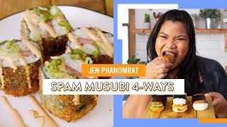Spam Musubi 4 Ways | Jen Phanomrat