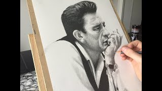 Drawing Johnny Cash