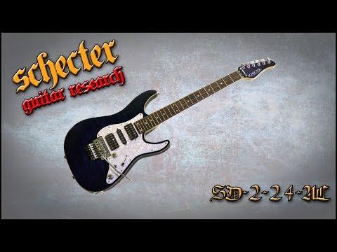 Schecter SD-2-24-AL (Japan, 2012) - Demo By Nick Percev