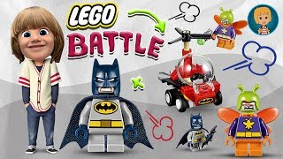 Gertit Builds Lego Mighty Micro and a Battle is Happening Spider Man vs Red Skull and Green Goblin