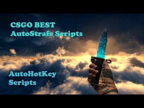 CS:GO Autostrafe Scripts