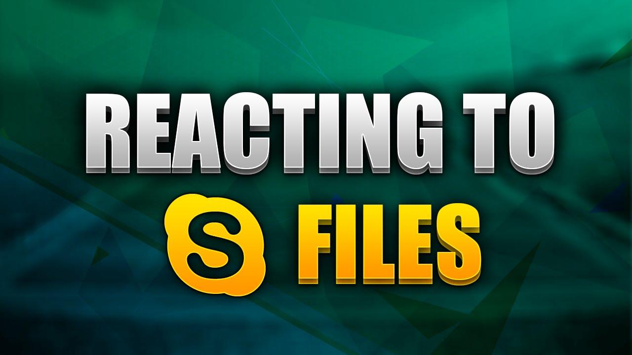 how to delete skype recieved files