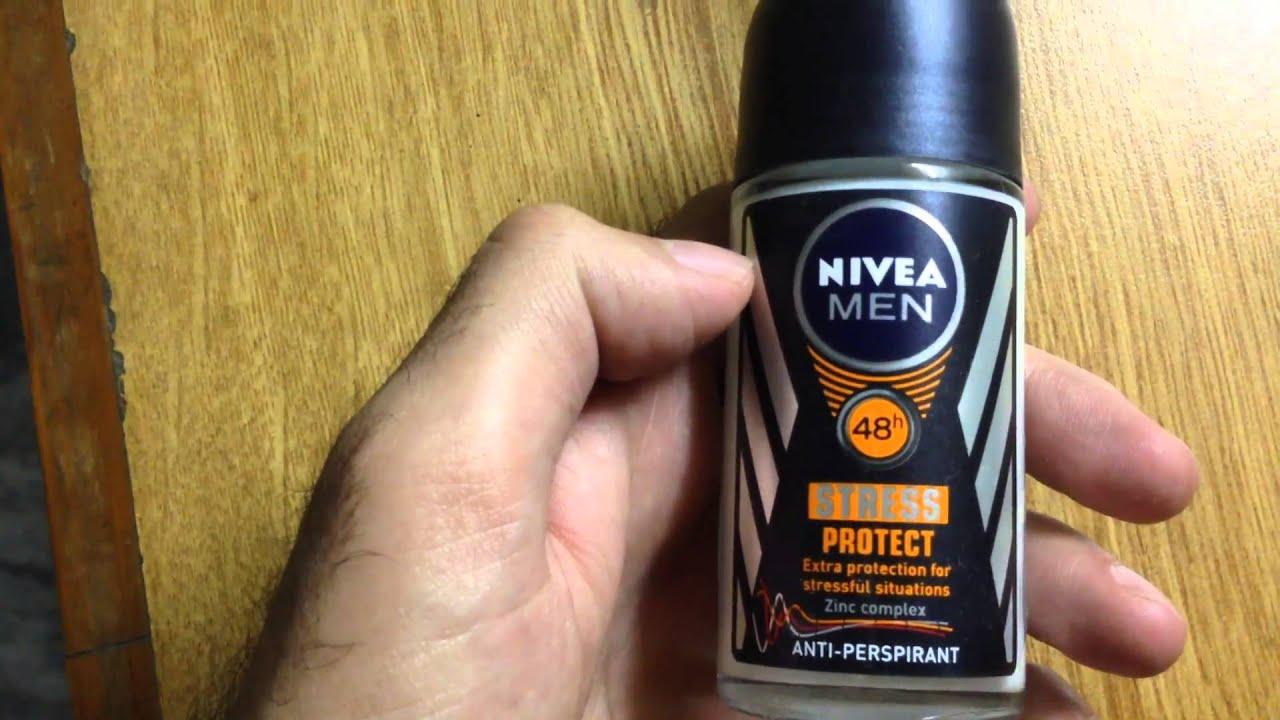 Nivea For Men Dry Impact Vs Stress Protect Antiperspirants Youtube Deodorant Roll On 50ml